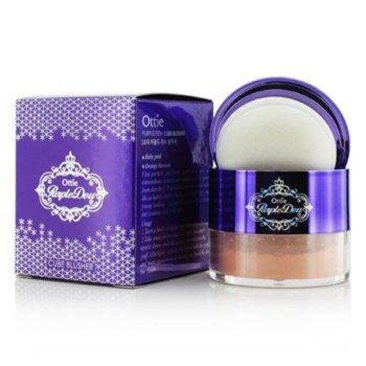 Purple Dew Cube Blusher #02 (Orange Blossom) 12g
