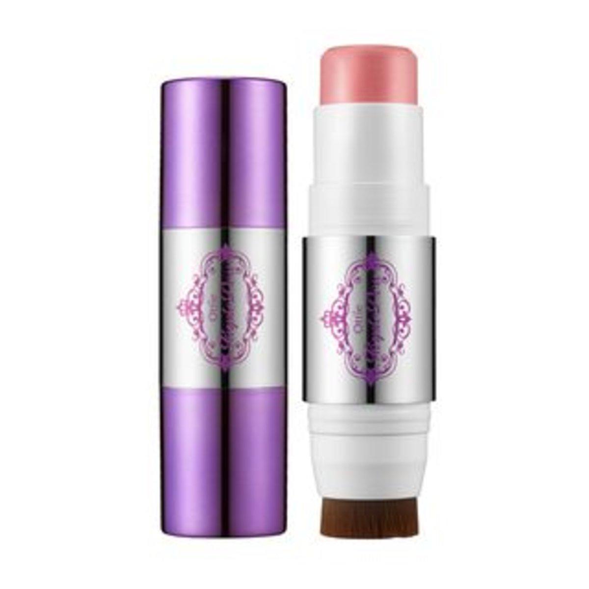 Purple Dew Stick Blusher #01 (Milky Pink) 8g