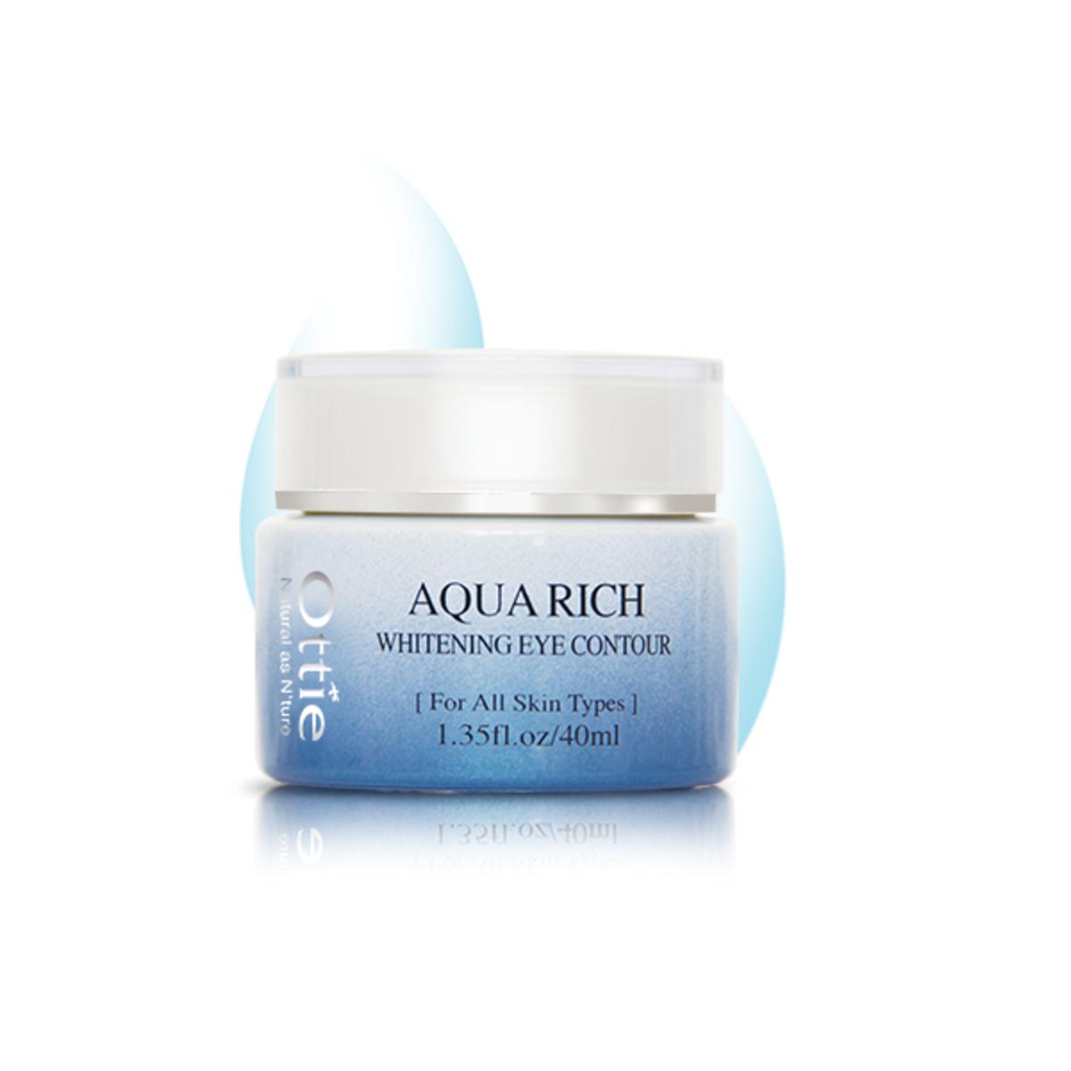 Aqua Rich Whitening Eye Contour40ml