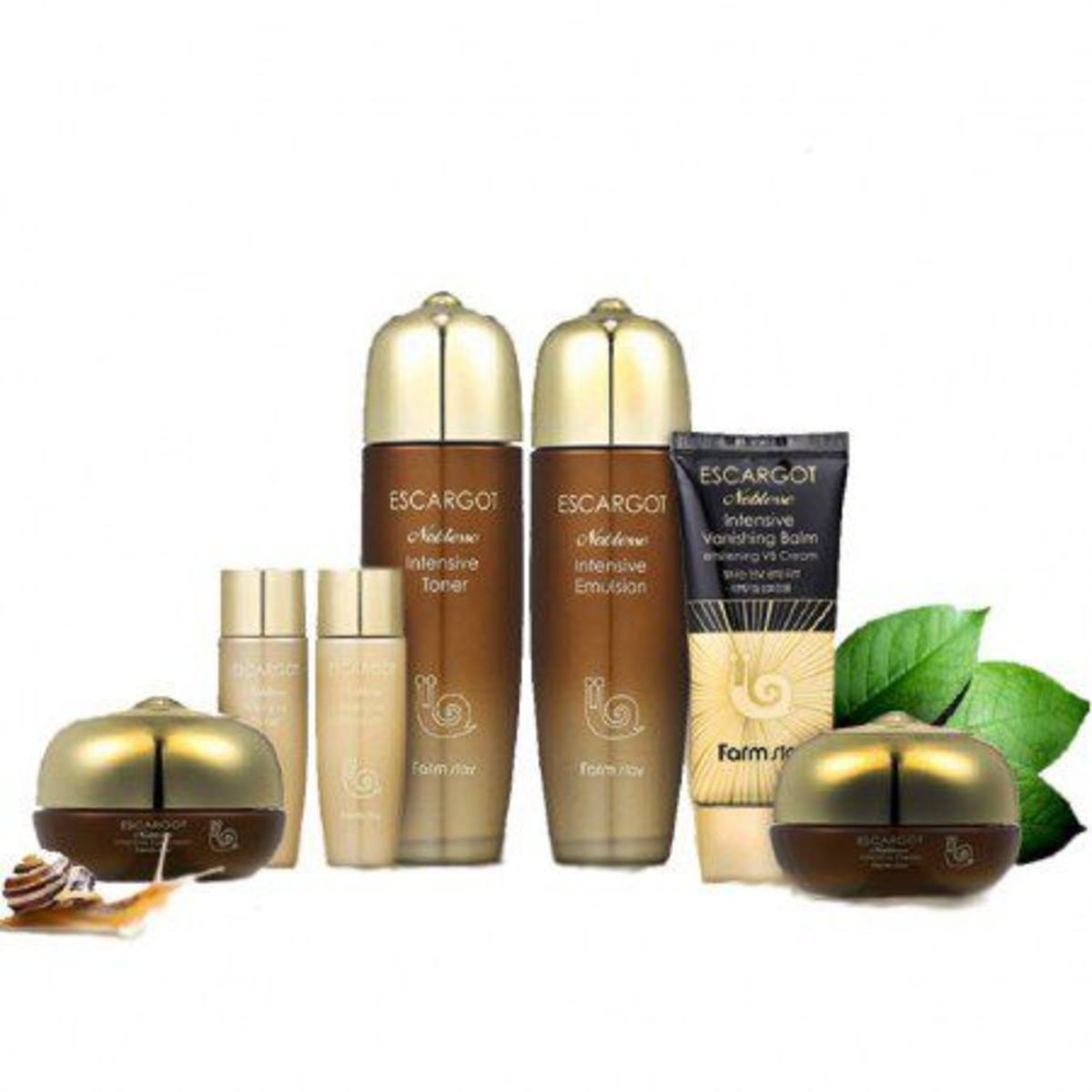 ESCARGOT Noblesse Intensive Skin Care Set (5pcs/set)