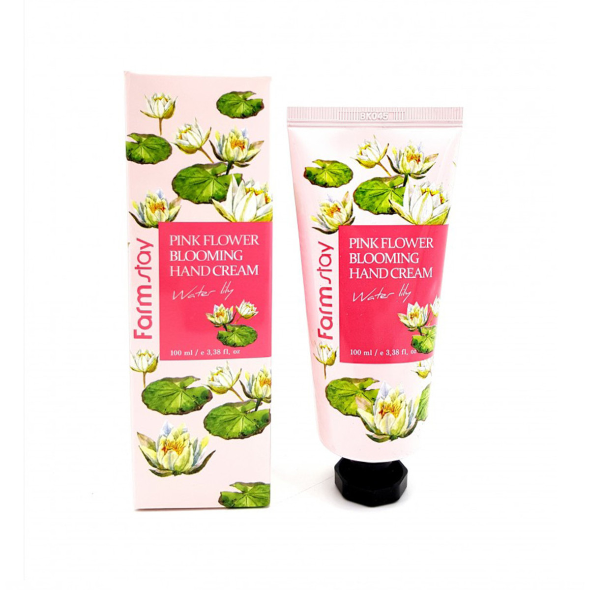 Pink Flower Blooming Hand Cream(Water Lily) 100ML