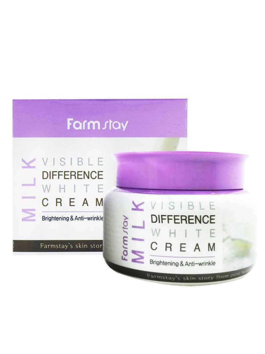 milk visible difference white cream 100ML
