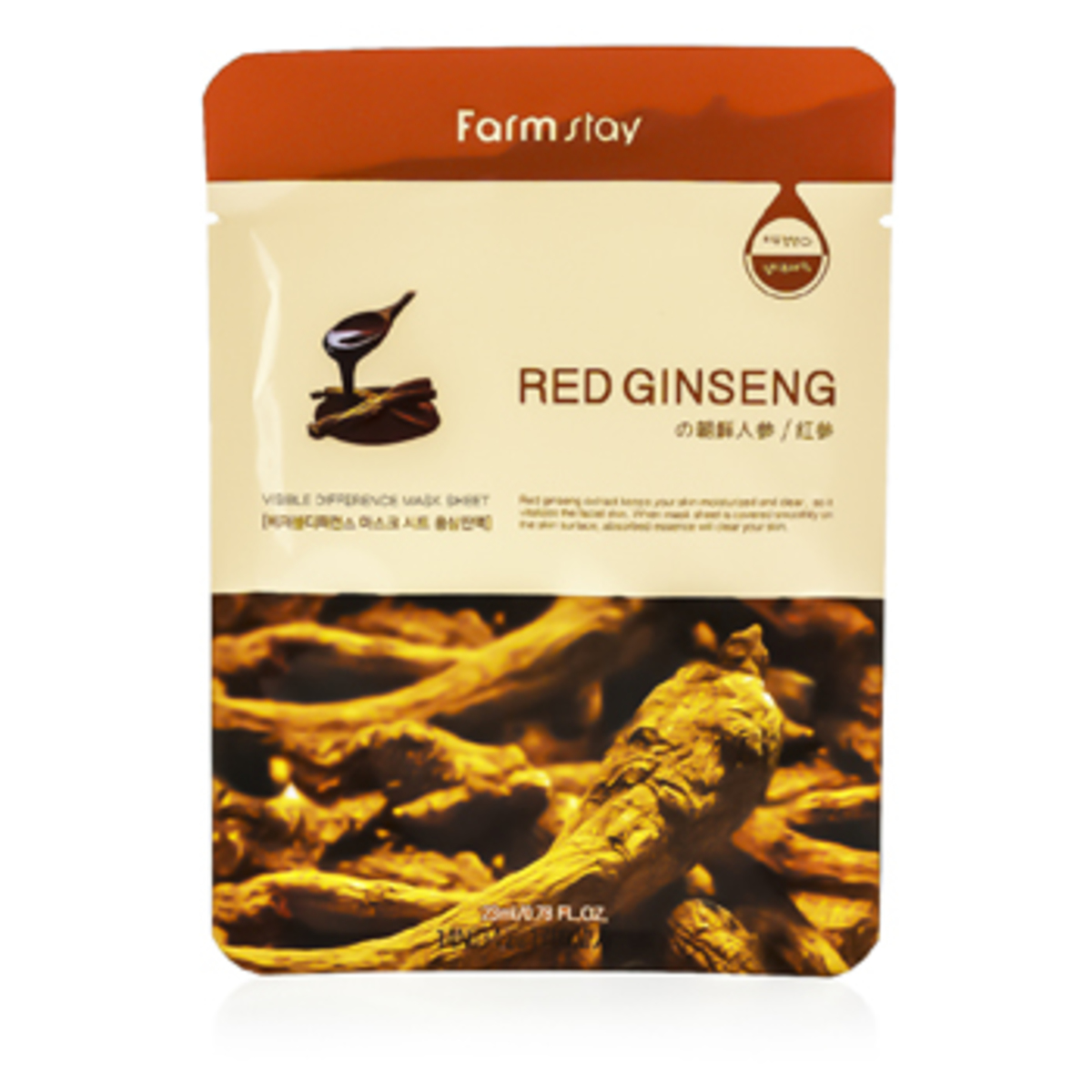 Visible Difference Mask Sheet(Red Ginseng)10pcs