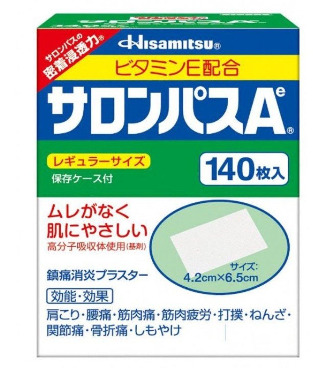 鎮痛貼 (140片)日本版 [平行進口]