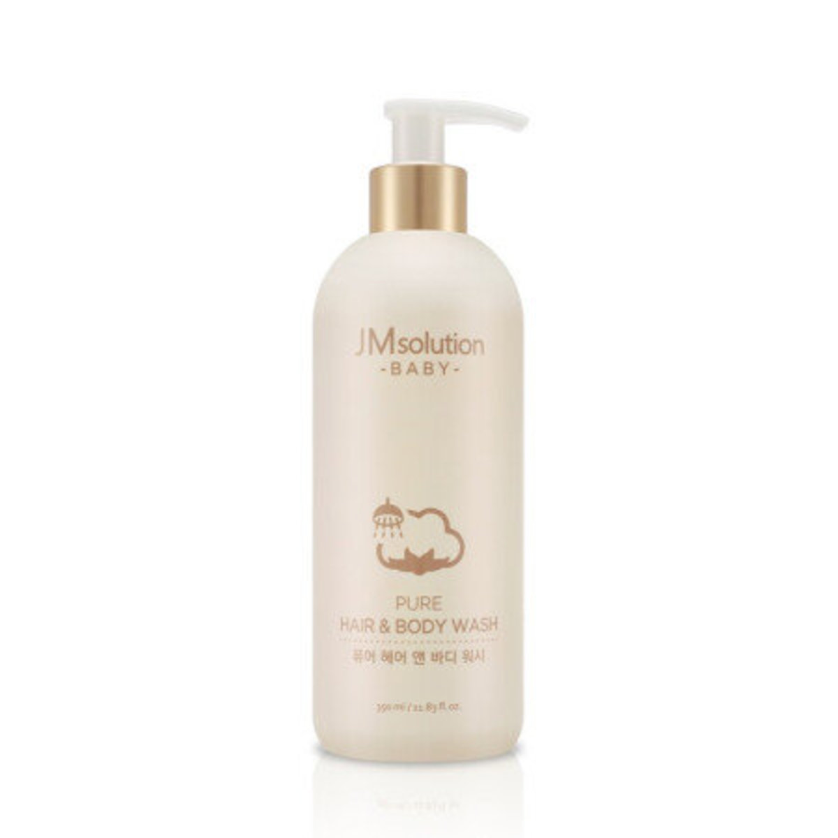 BABY PURE HAIR & BODY WASH 350ml