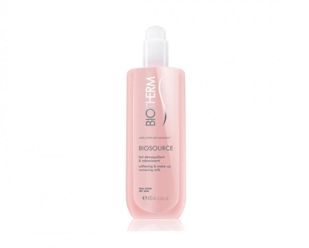 Biosource Softening & Make-Up Removing Milk -Dry Skin 400ml
