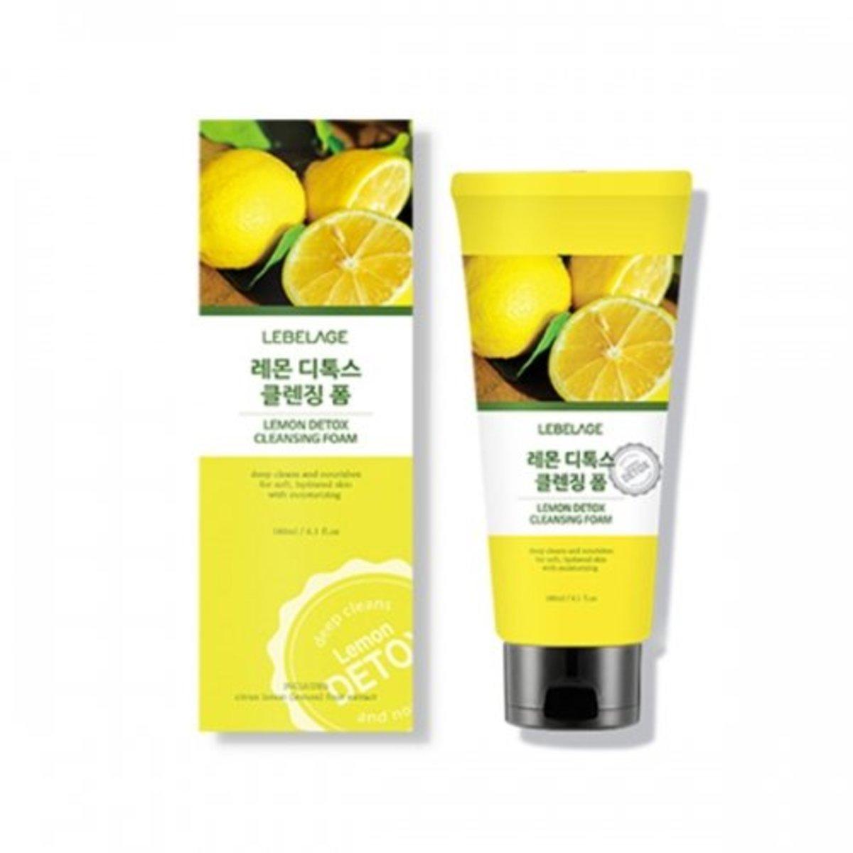 lemon detox cleansing foam180ml