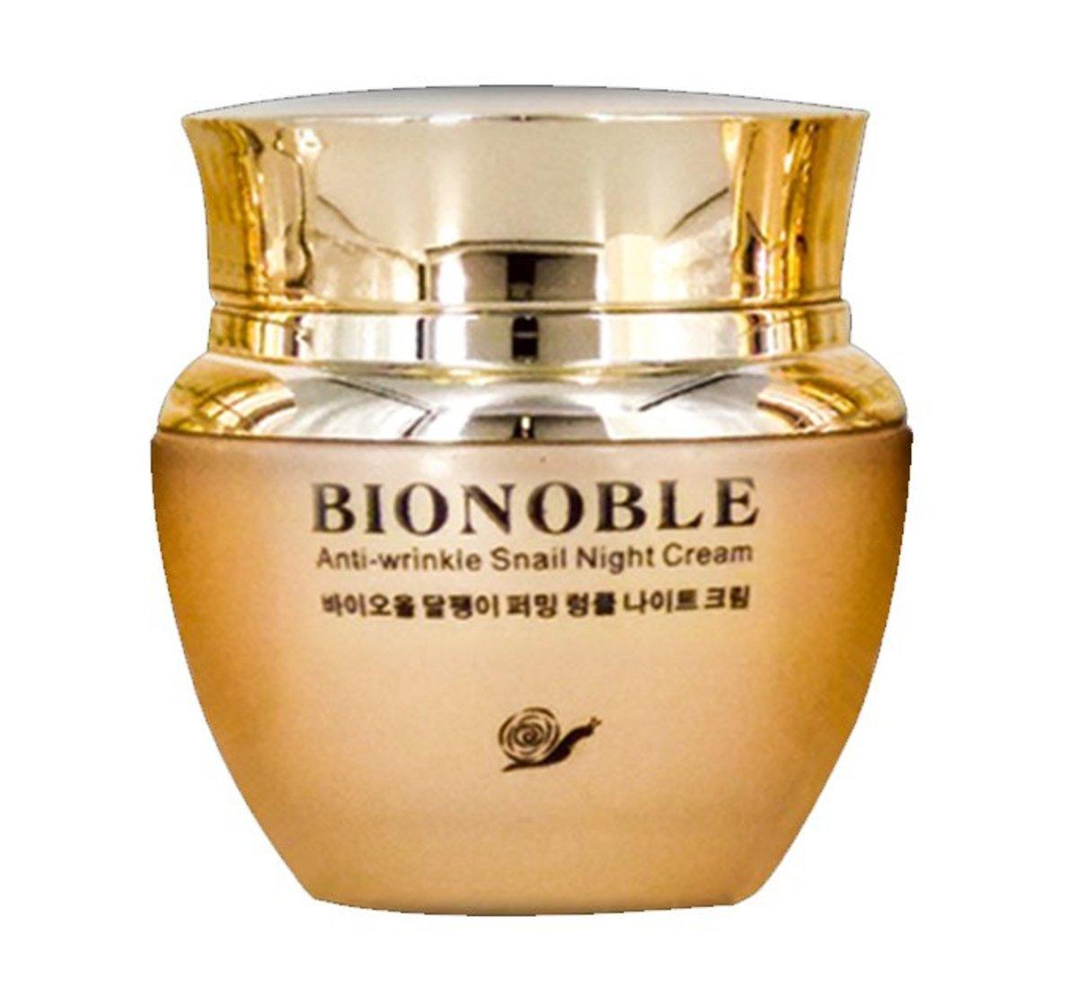 BIONOBLE Anti-wrinkle Snail Night Cream 50g