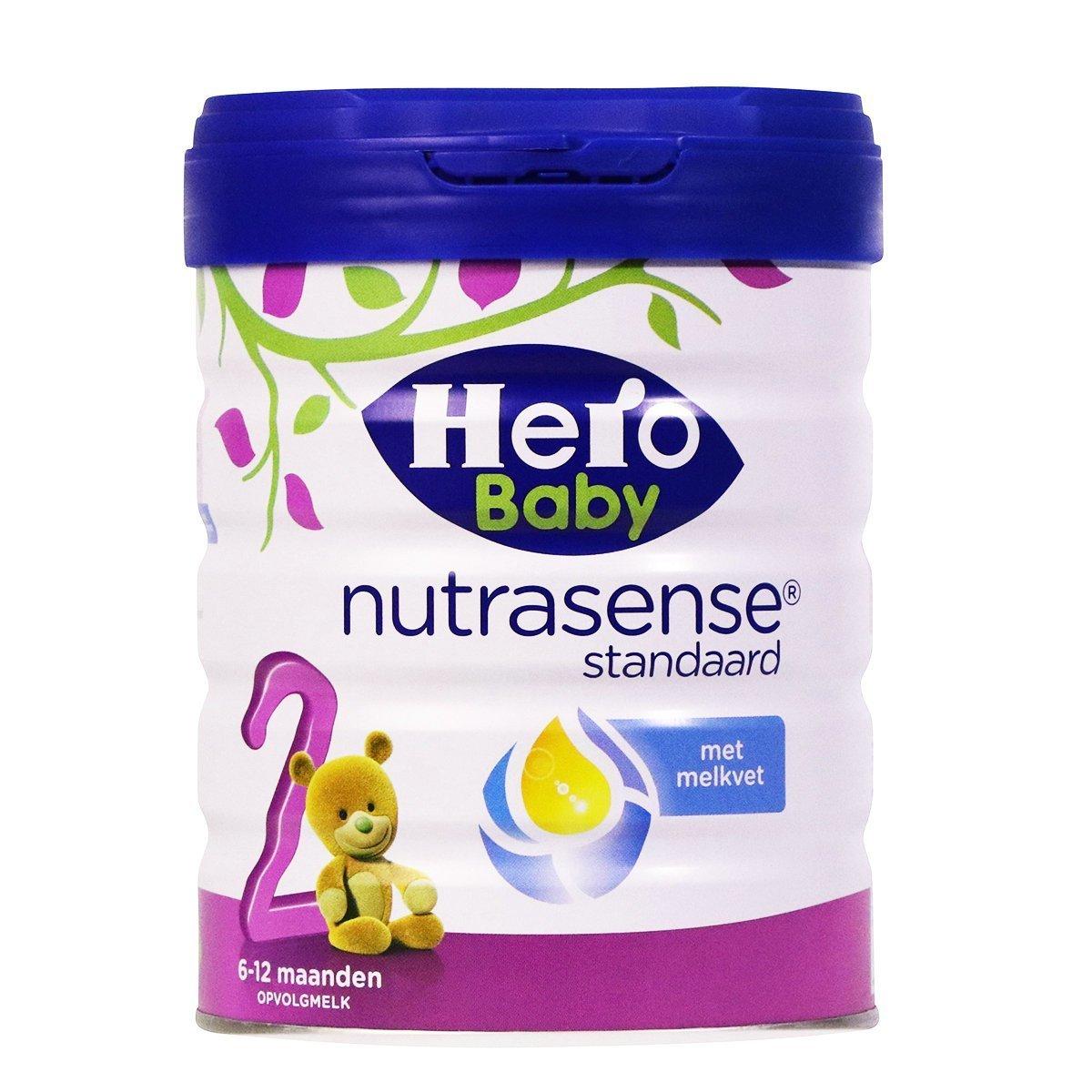 荷蘭美素 Hero Baby 白金版嬰兒奶粉2段罐裝 (6個月以上)800g [平行進口]