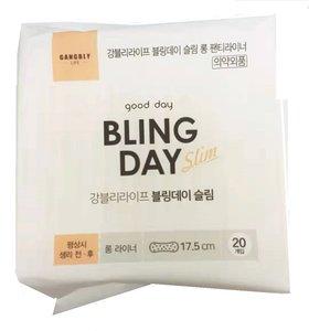 Gangbly Life- BLING DAY衛生護墊 超薄(17.5cm*20片)