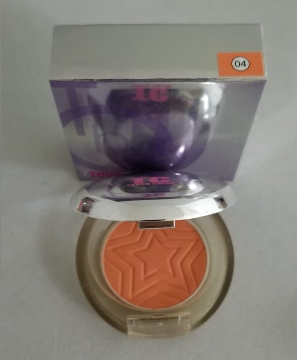 Touch Color Single Blush Powder #04
