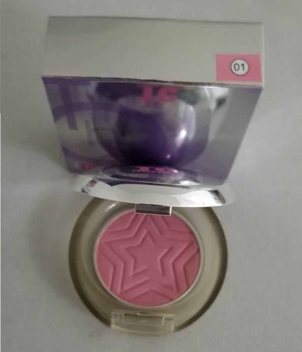 Touch Color Single Blush Powder #01