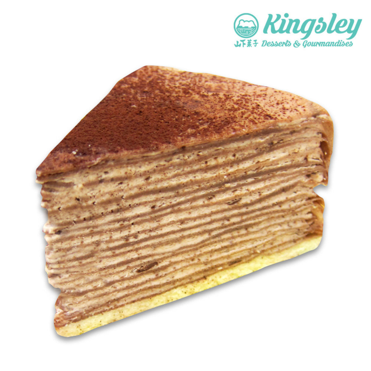 Chocolate Mille Crepe Cake (Whole)Coupon