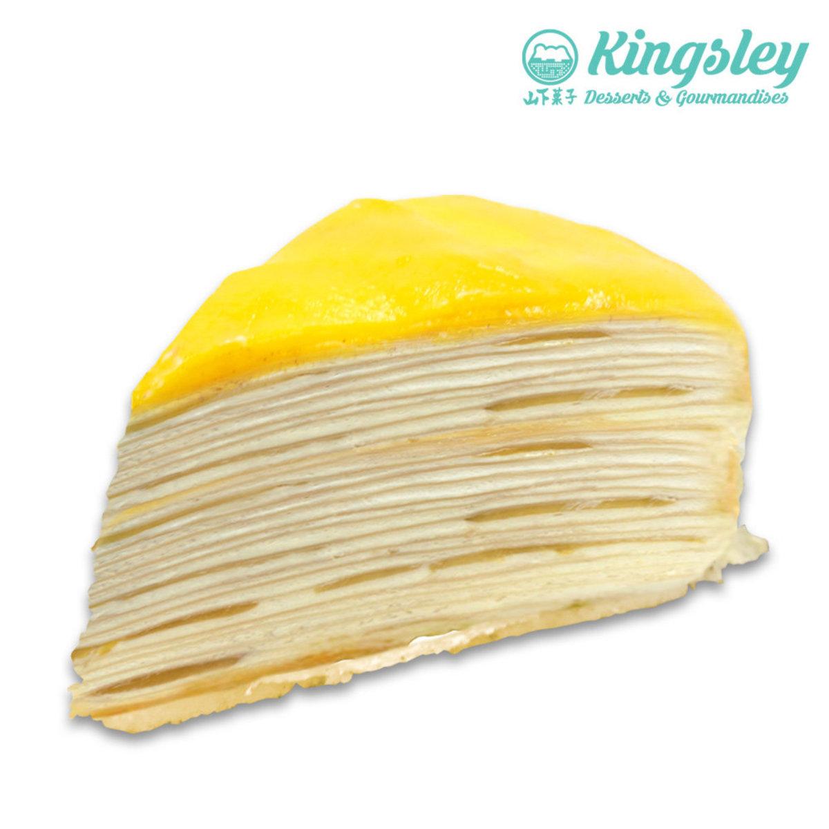 Mango Mille Crepe Cake  (3pcs)Coupon