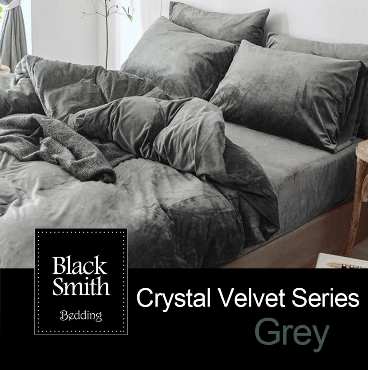 鎖溫水晶絨系列(灰色)