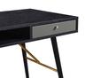 """46"""" Black OAK COLOR Storage Desk"""