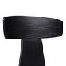 黑橡木色曲木貼美國白蠟木皮餐椅
