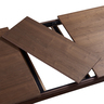 47/61 Walnut COLOR Extension Table