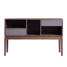 """46"""" Walnut Two Drawers TV Cabinet"""