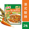Taiwan Knorr Hot and Sour Soup 46.6g x 2 (08585)