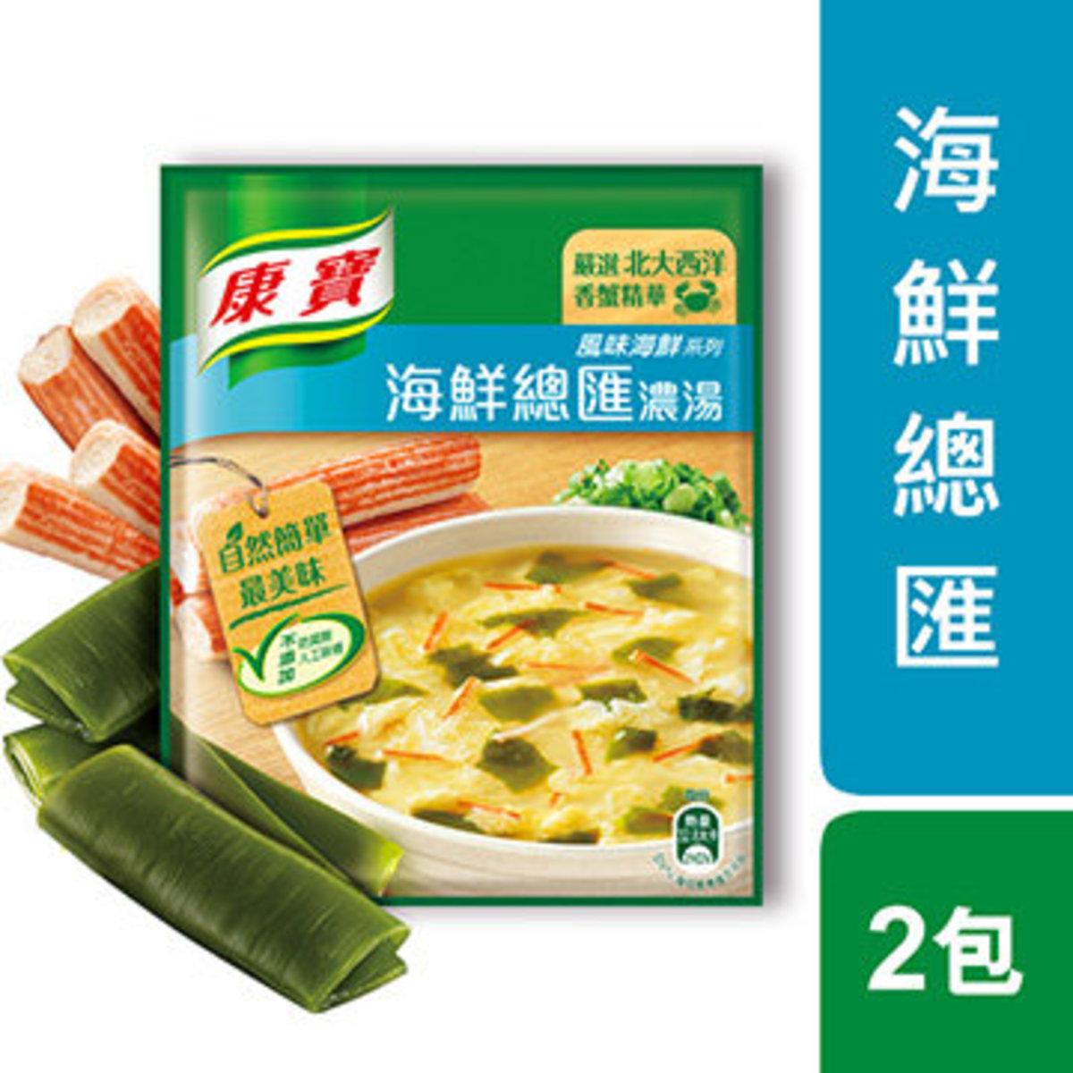 台灣直送 康寶海鮮濃湯(孖裝) 38.3g x 2 (08606)