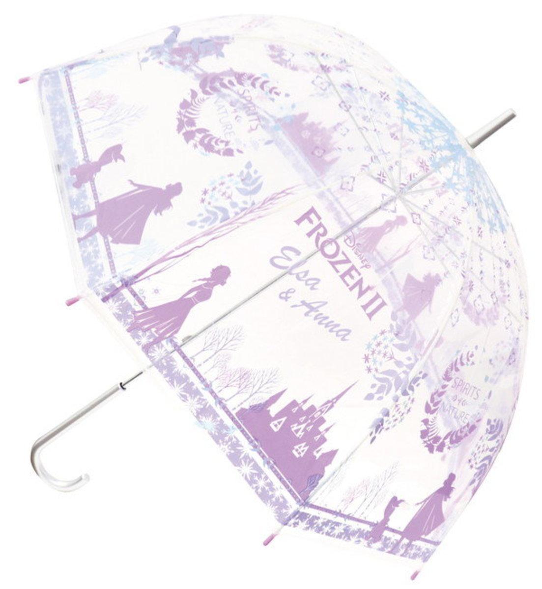 Disney Transparent Umbrella (59cm Long) Frozen ll (32428)