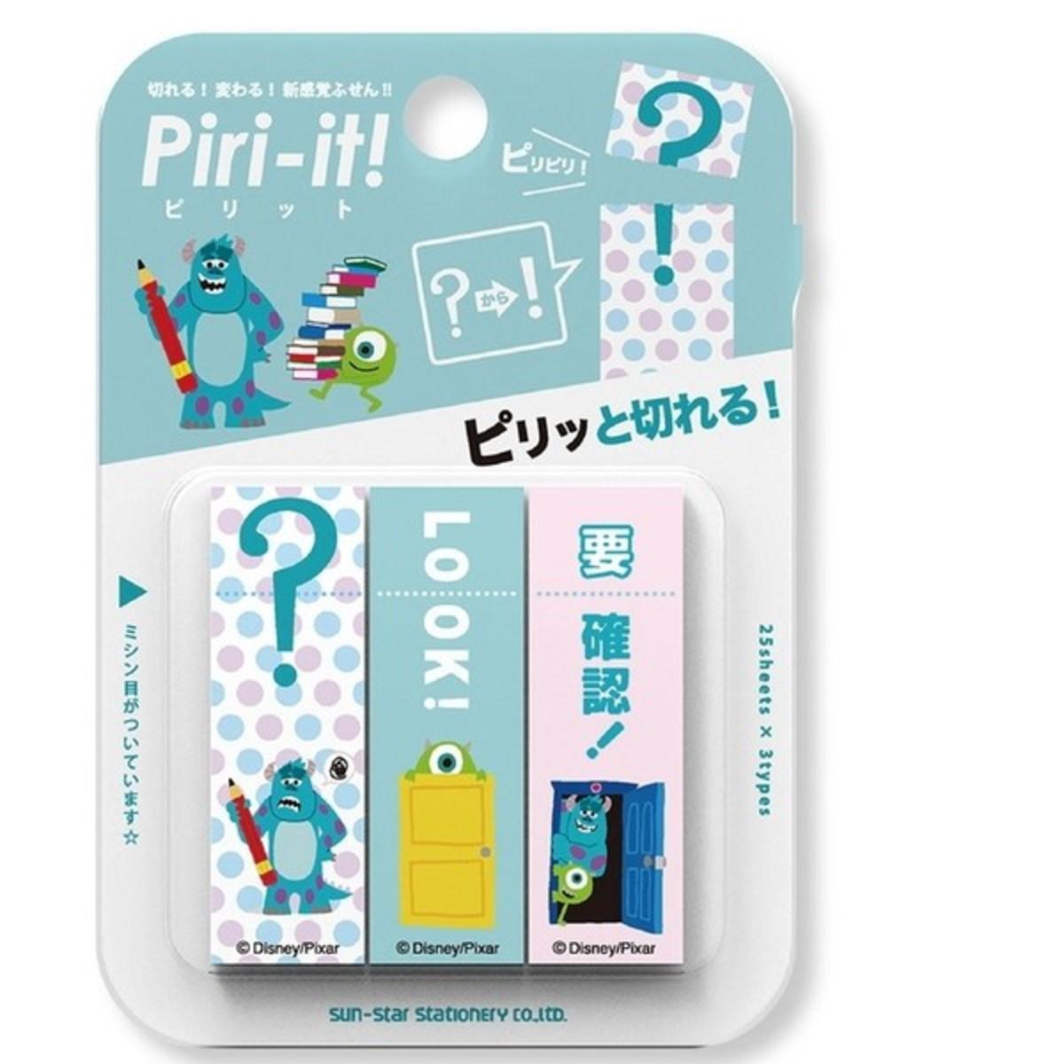 迪士尼 Piri-it! 黏貼便菚 標示貼 (怪獸公司) 日本製 S2814382