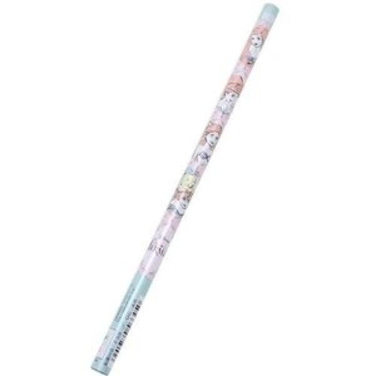 Disney 美人魚 HB 鉛筆 (20支裝) 日本製 JAN 4901770566450