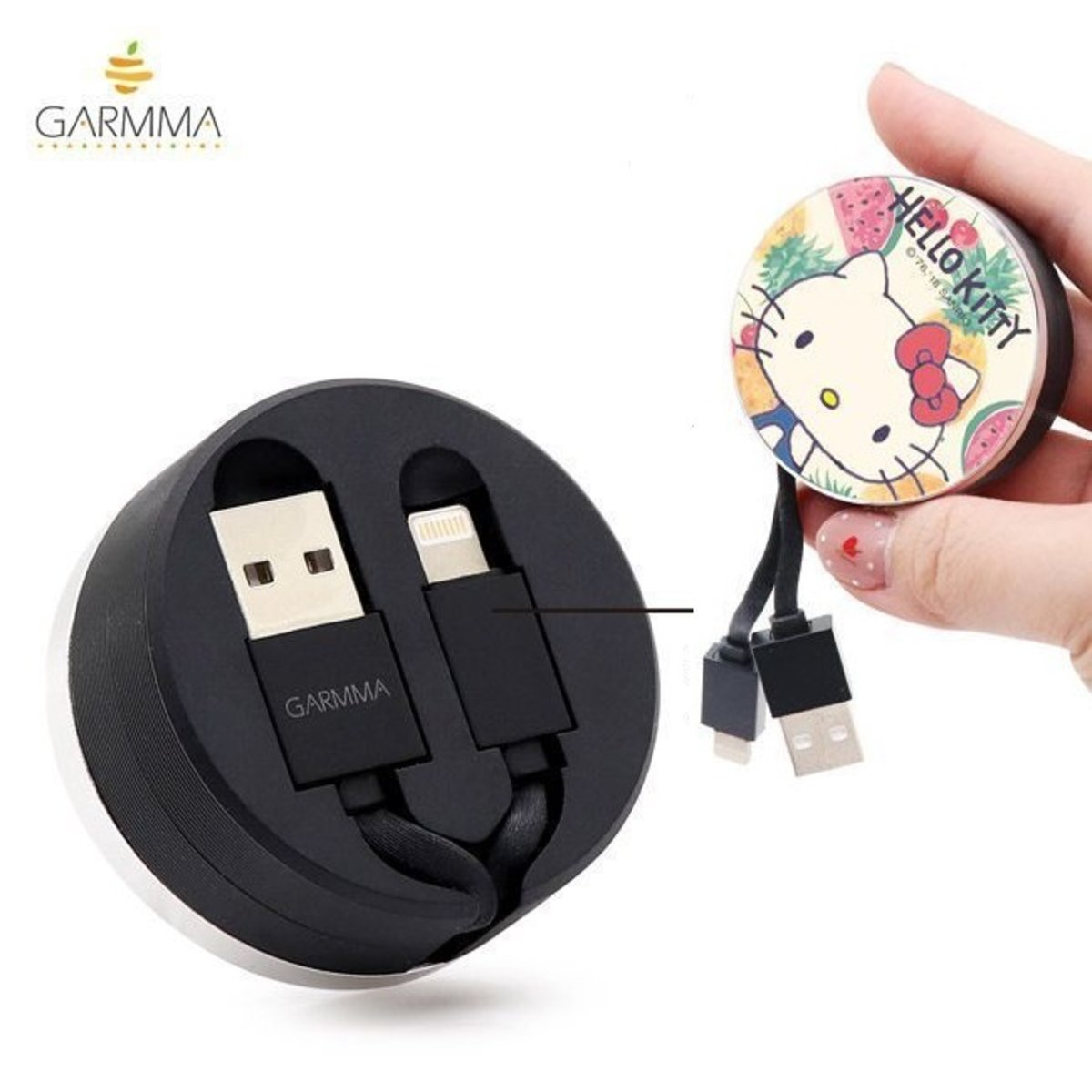 Hello Kitty Extracted Extension Lightning Cable (Apple) 4710150862828