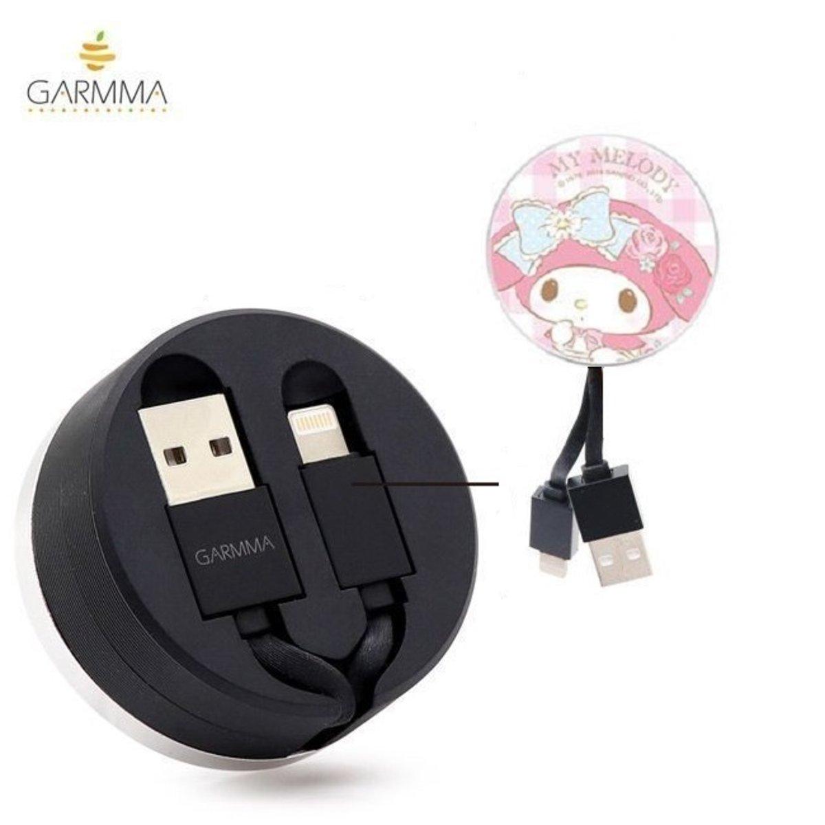 Sanrio My Melody 伸縮 USB 充電 數據傳輸線(Apple專用) 4710150863474