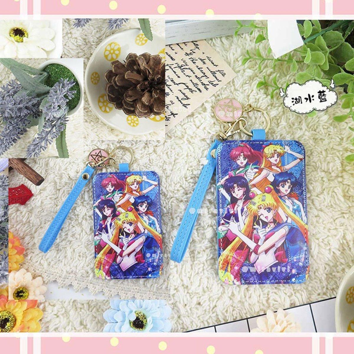 美少女戰士 皮革吊飾 八達通/證件 卡套 ( sailormoon01 )