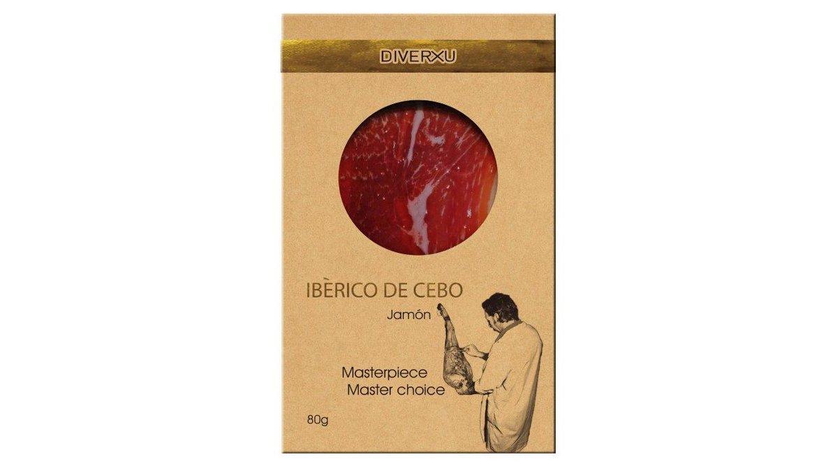 西班牙黑毛豬火腿, 穀物餵飼30月風乾期 80g