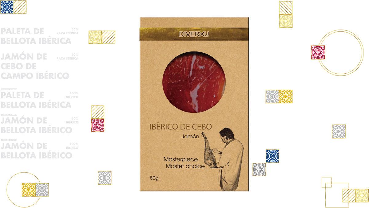 Iberico Cebo Ham, 30 months curation 80g