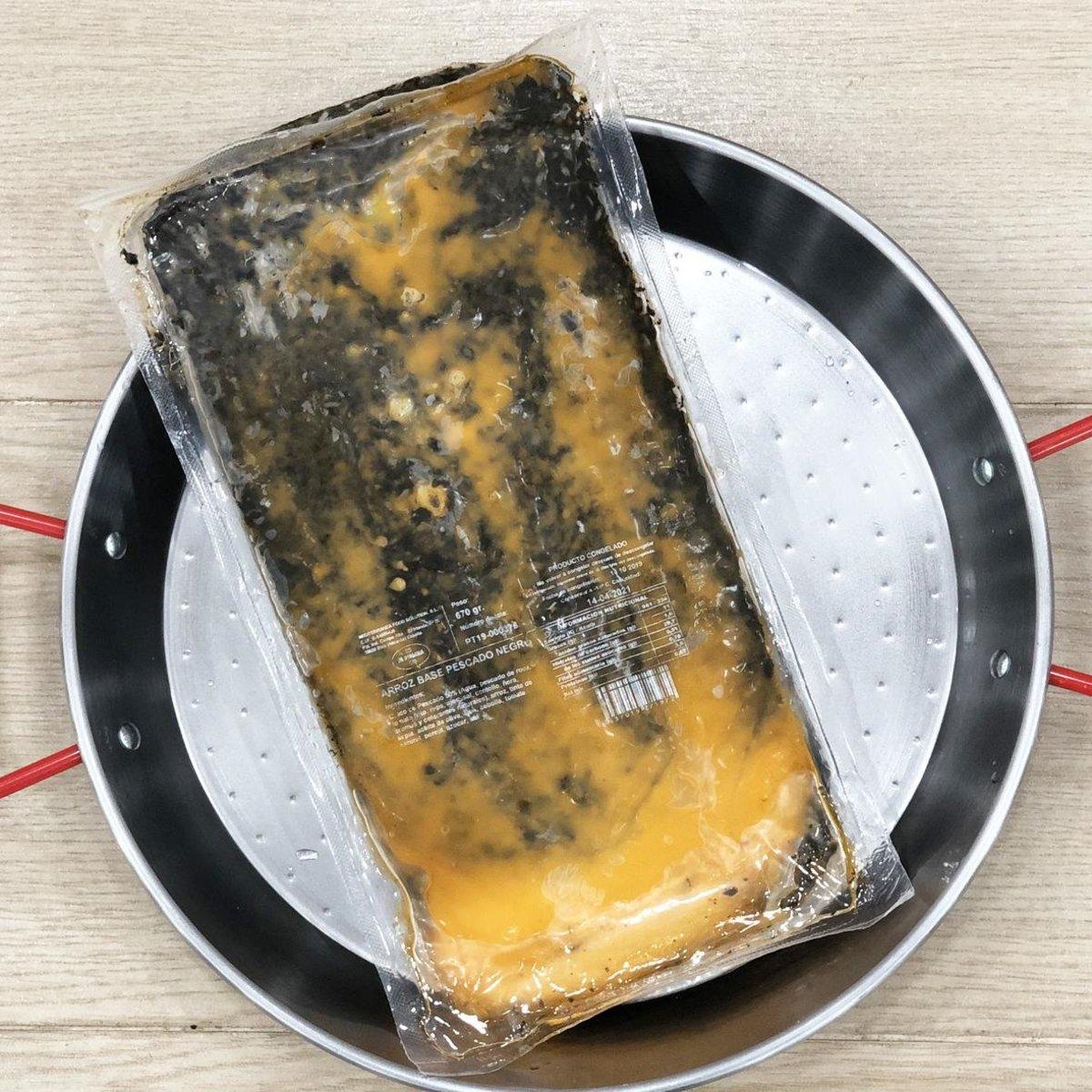 急凍西班牙海鮮飯-墨汁味 (650g)