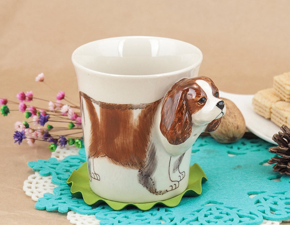 Truefun | Animal Ceramic Mug 10 Oz (Cavalier King Charles