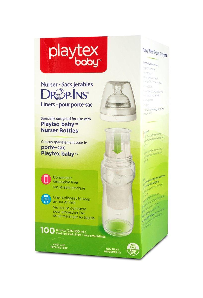 Playtex Drop-Ins Liners 8oz 100ct  5544