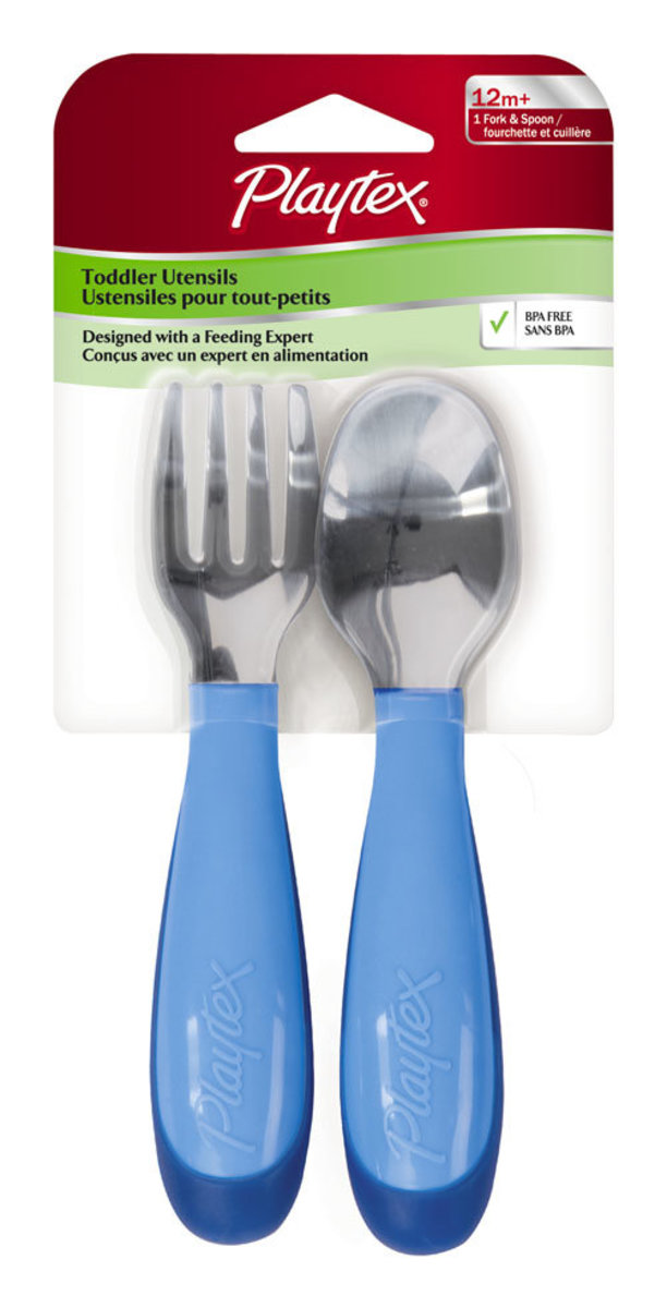 Playtex Todder Fork/Spoon Set 5910