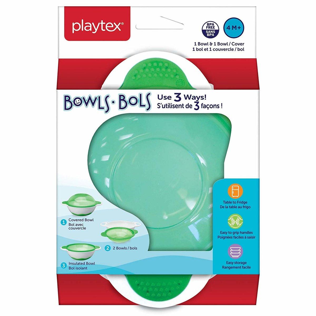 Playtex 三重多用途學習碗