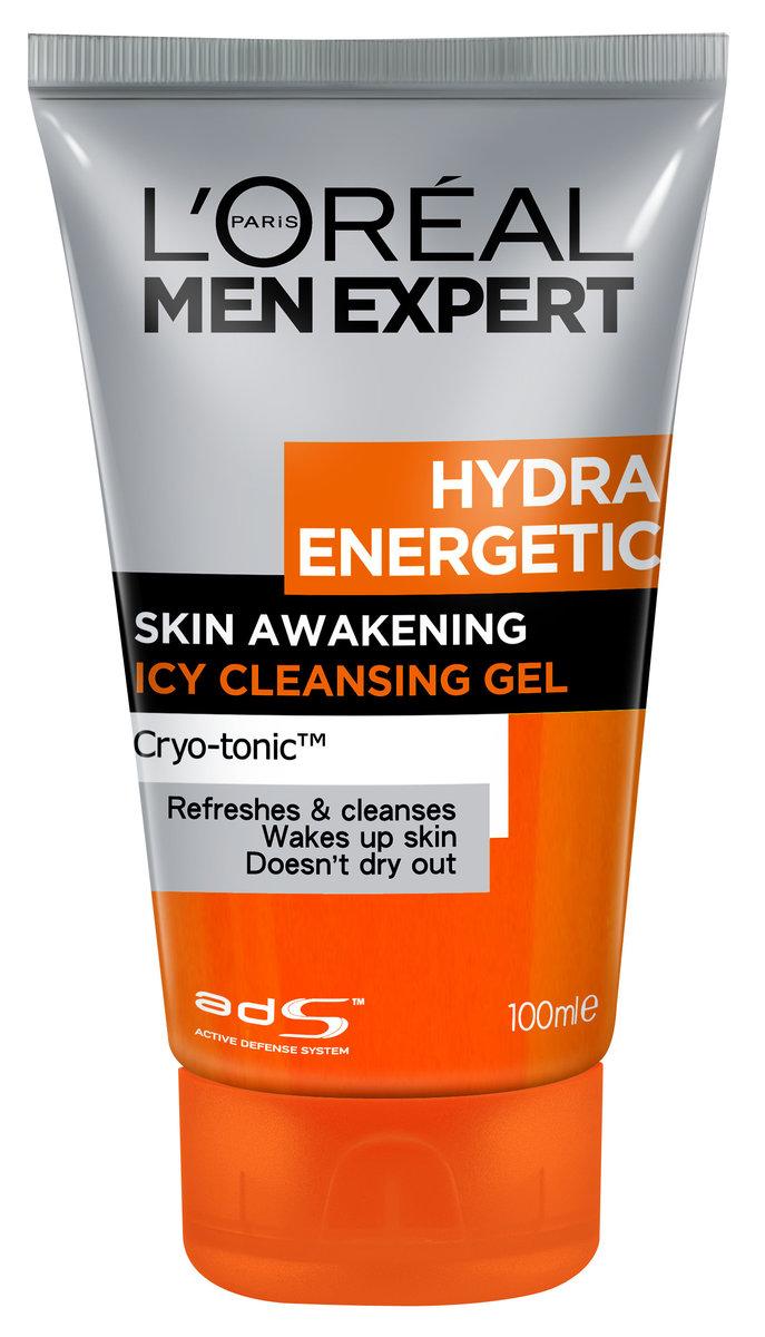 Men Expert Hydra Energetic Icy Cleansing Gel