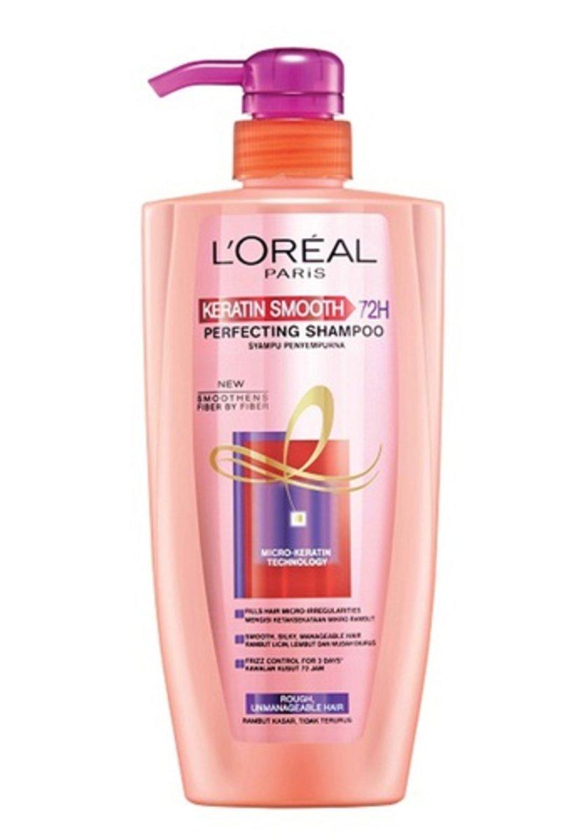 Elseve 2016 Keratin Smooth 72H Shampoo 450ml