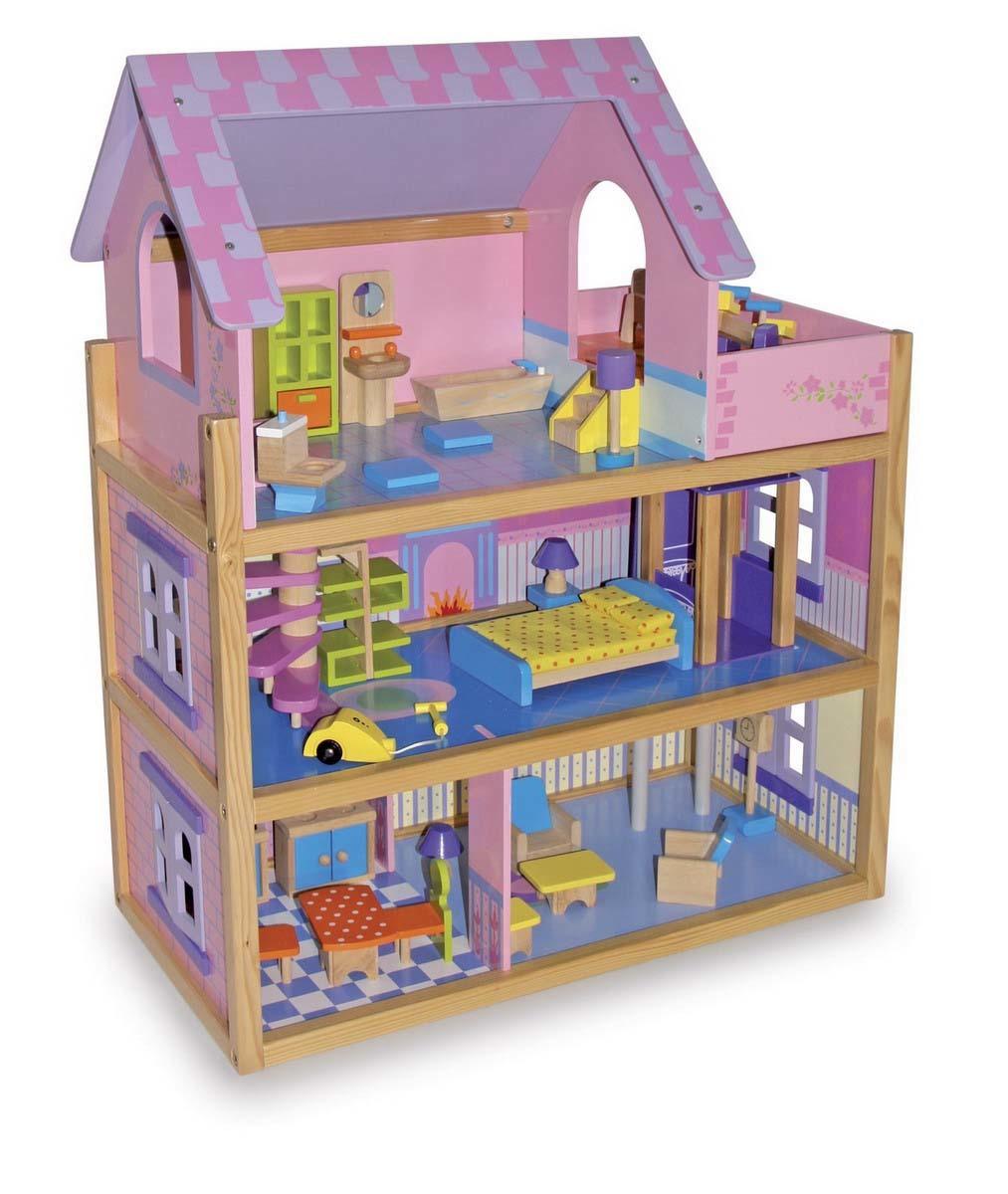 Small Foot Legler Dolls House Pink Hktvmall Online Shopping