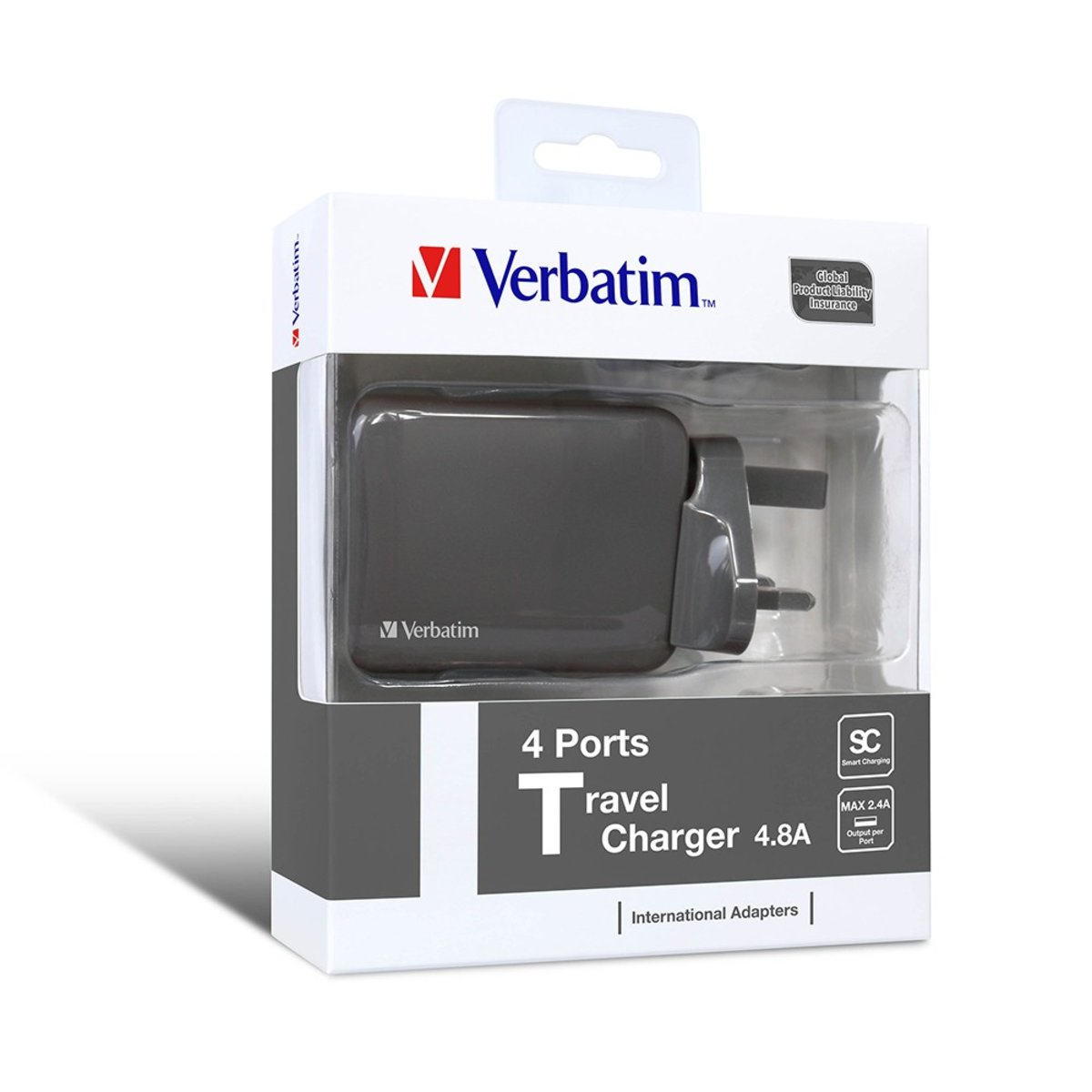 4 Ports Travel Charger【Authorized Goods】