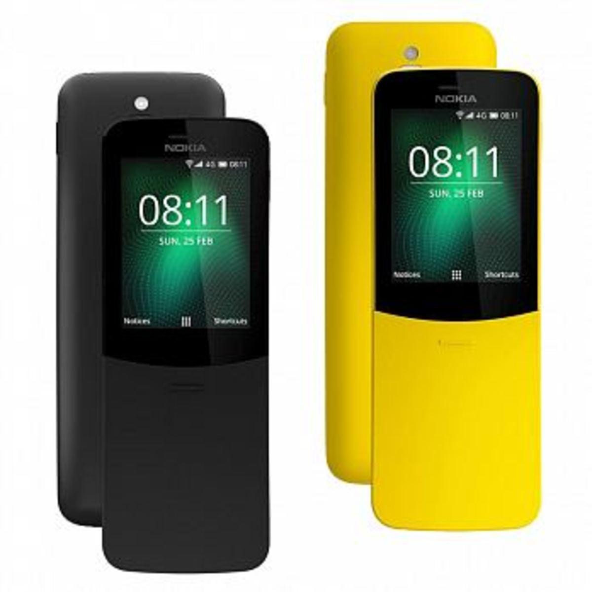 8110 4G LTE 復刻版雙卡雙待手機【香港行貨】