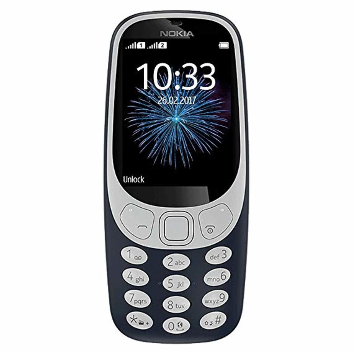 3310 3G 復刻版雙卡雙待手機【香港行貨】