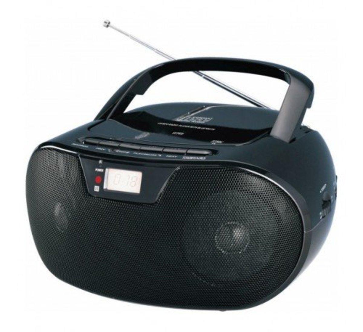 BT-491 便攜式USB藍牙CD收音機 FM【香港行貨】