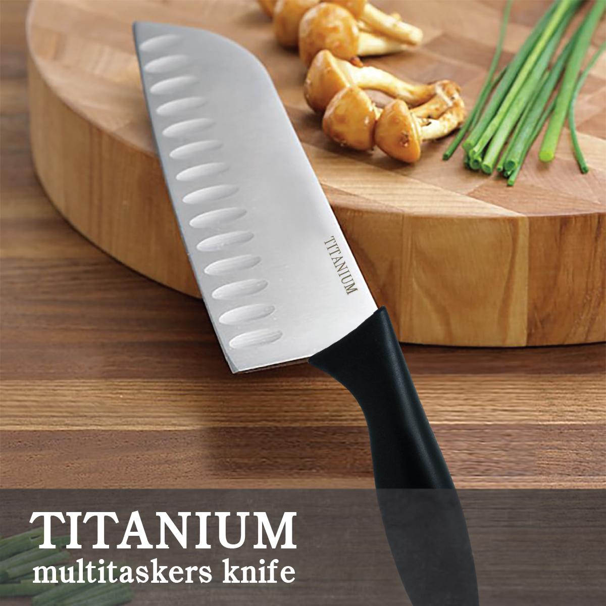 """Titanium Multitaskers Knife 7"""" (FQ-T05)"""