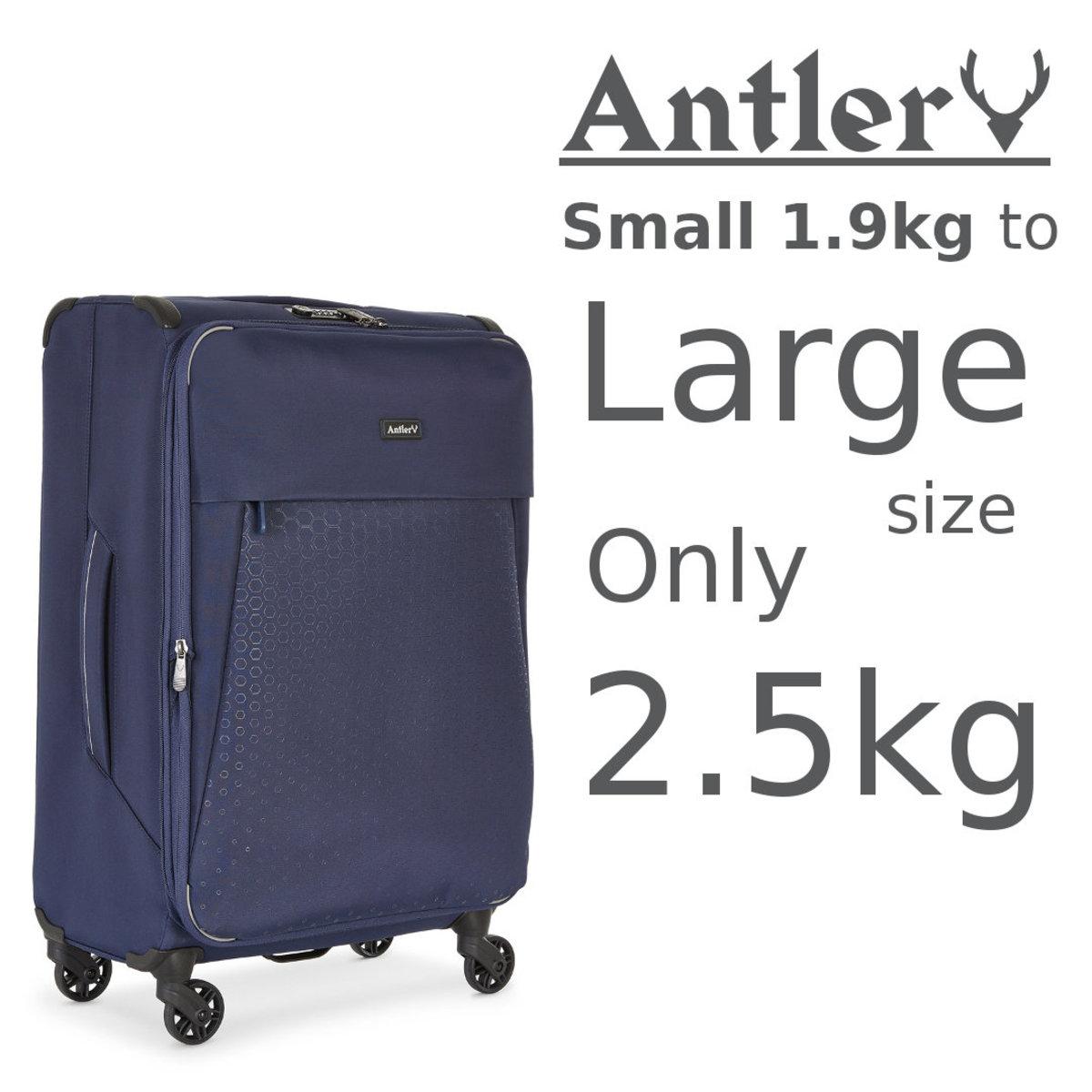 UK Antler Oxygen CX the lightest softcase - Blue