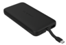 10000mAh Power Bank with Build-in Type C Cable