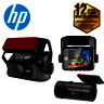 HP f660x High Resolution 1080p Double Vision WiFi Mini Car Camcorder