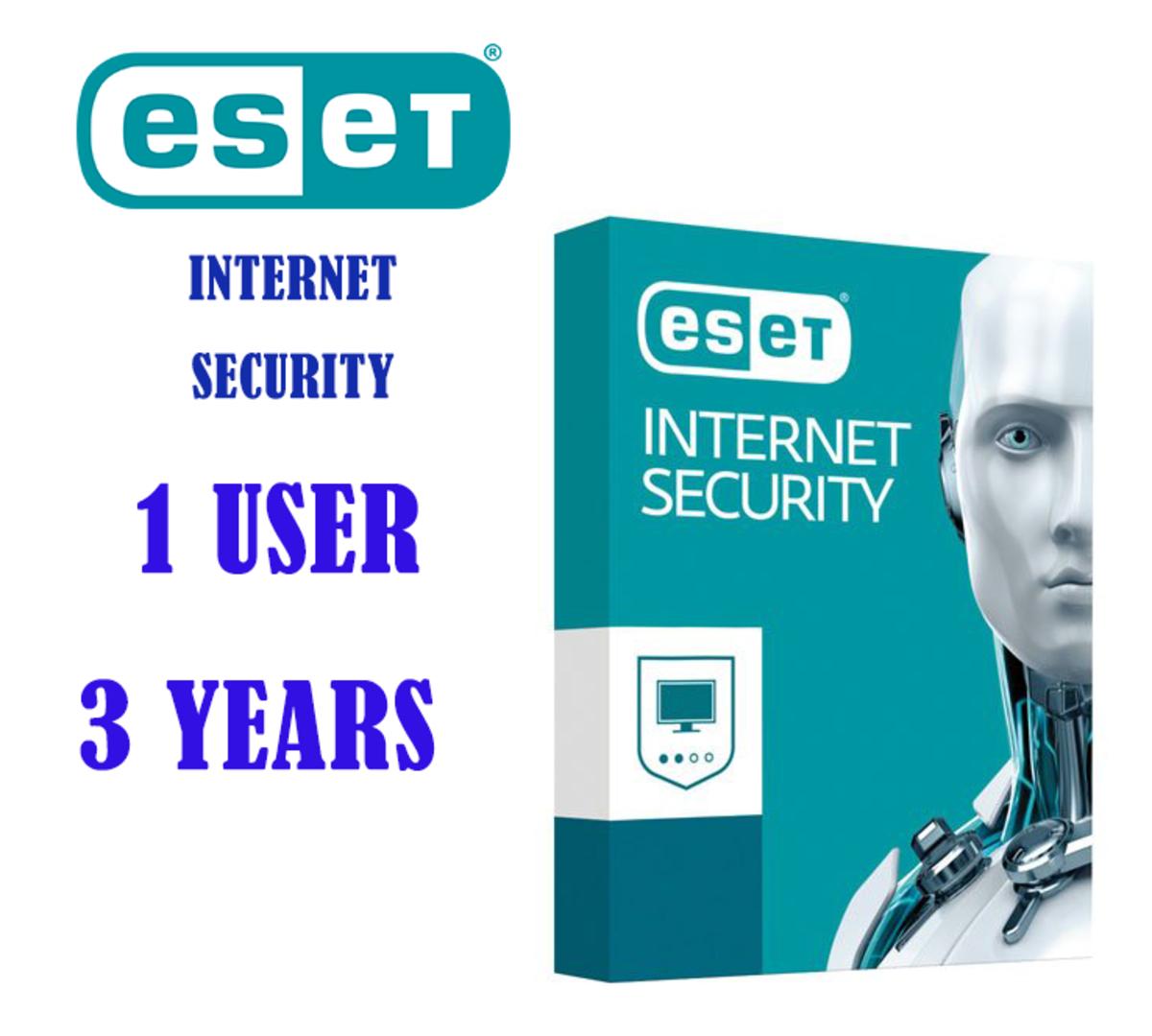Internet Security (1用戶/3年版本) 網絡安全套裝(送廿八葉 極品烏龍茶 15g)